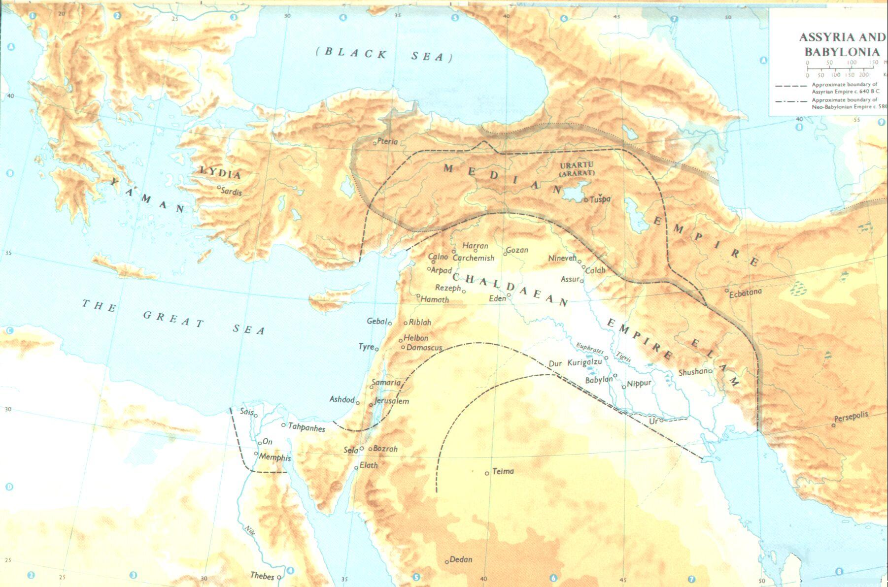 the assyrian and chaldean empires Fertile crescent trade: williams 8-3 search  the centre of one of the great empires of the  destroyed by a chaldean-median coalition.