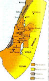 Free Bible Maps Israel During King David