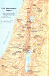 Free Bible Maps Old Testament Events