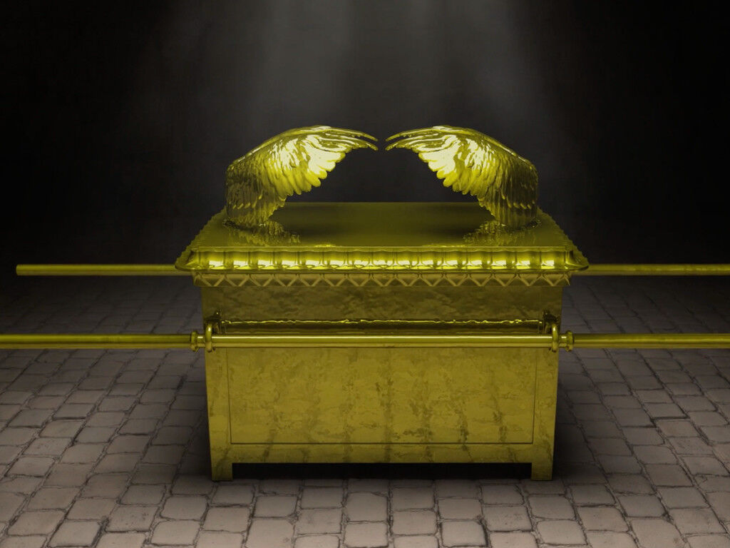 Picture of the Ark of the Covenant and Mercy Seat