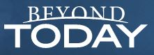 Logo for Beyond Today Magazine.