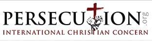 Logo for Persecution Magazine.