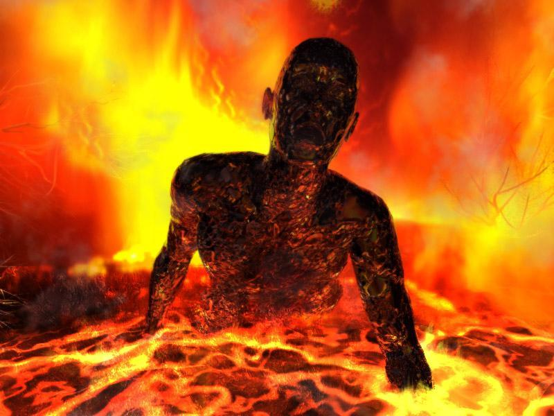 Man in lake of fire due to Failure to get Anger management counseling
