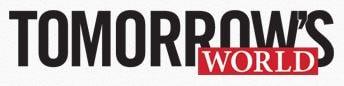 Logo for Tomorrow's World Magazine.